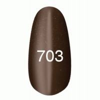 Gel-lacquer Kodi «Moon light» № 703 (brown with a shimmer, magnetic)