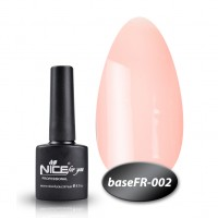 Camouflage base Nice For You Gel Base Coat FR 002 (pink) 8.5 ml
