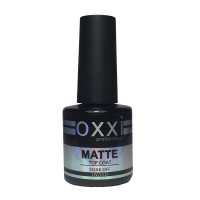 Top for nails OXXI Matte Velur, 10 ml