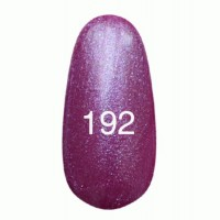 Gel-lacquer Kodi 8 ml № 192 (dark eggplant with blue mother-of-pearl)