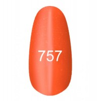 Gel-lacquer Kodi «Moon light» № 757 (orange with a shimmer, magnetic)