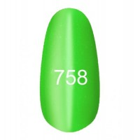 Gel-lacquer Kodi «Moon light» № 758 (lime with a shimmer, magnetic)