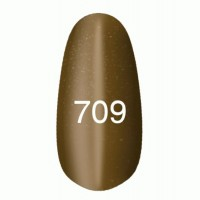 Gel-lacquer Kodi «Moon light» № 709 (light brown with a shimmer, magnetic)