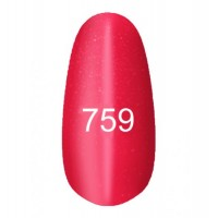Gel-lacquer Kodi «Moon light» № 759 (crimson-red with a shimmer, magnetic)