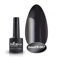 Camouflage base Nice For You Gel Base Coat FR 007 (black) 8.5 ml