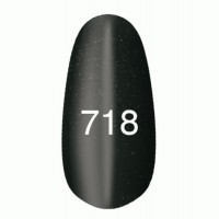 Gel-lacquer Kodi «Moon light» №718 (black with a shimmer, magnetic)