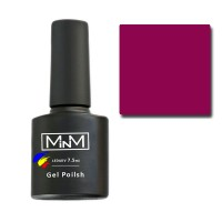 Gel Polish M-in-M Gel Polish №055 7.5 ml (brown-purple, enamel)