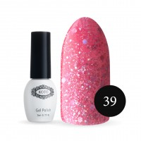 Gel-lacquer KOTO №039 5 ml (light cherry, sparkles)