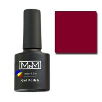 Gel Polish M-in-M Gel Polish №056 7.5 ml (red-brown, enamel)
