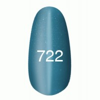 Gel-lacquer Kodi «Moon light» № 722 (light blue with a shimmer, magnetic)
