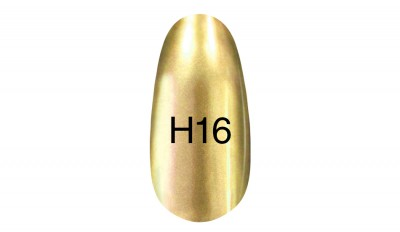 Mirror lacquer Hollywood 8ml H 16 (yellow, gray) Quality mirror varnish from the company Kodi H16 to create a modern mirror manicure