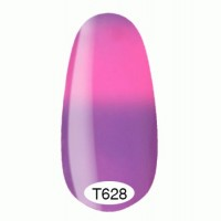 Thermo gel varnish Kodi 8 ml №T628 (purple flowing into pink)