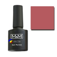 Gel Polish M-in-M Gel Polish №060 7.5 ml (chestnut, enamel)