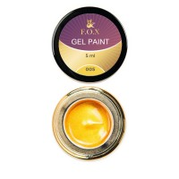 Gel-paint F.O.X 005, 5 ml (golden)