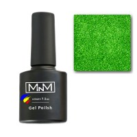 Gel Polish M-in-M Gel Polish №100 7.5 ml (emerald, glitter)
