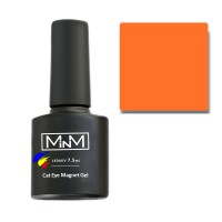 Gel Polish M-in-M Gel Polish №101 7.5 ml (cadmium orange, cat's eye)