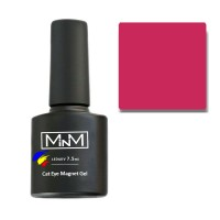 Gel polish M-in-M Gel Polish №102 7.5 ml (dark crimson, cat's eye)