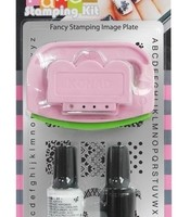 Set for stamping Konad Fancy Stamping Kit II