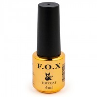 Top for gel-varnish F.O.X Top Thermo №002, 6 ml