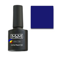 Gel Polish M-in-M Gel Polish №108 7.5 ml (dark blue, cat's eye)