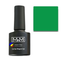 Gel Polish M-in-M Gel Polish №111 7.5 ml (green, cat's eye)
