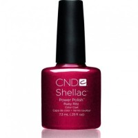 Shellac CND Rubby ritz (red with sparkles)