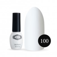 Gel-lacquer KOTO No. 100 5 ml (white, enamel)