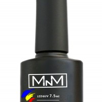Top with a sticky layer of M-in-M Wipe Top Coat 7.5 ml