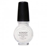 Lacquer for stamping Konad White (white) 11 ml