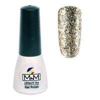 M-in-M Brilliant Polish No. 202 gel varnish (silver, spangles) 5 ml