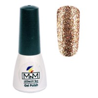 M-in-M Brilliant Polish No. 203 gel varnish (bronze, glitters) 5 ml