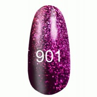Gel-lacquer 8 ml «Space Lights» №901 (translucent with pink tint)