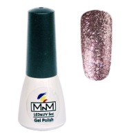 M-in-M Brilliant Polish No. 206 gel varnish (lilac, sparkles) 5 ml