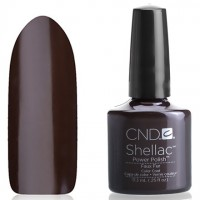 Shellac CND Faux Fur (chocolate brown)