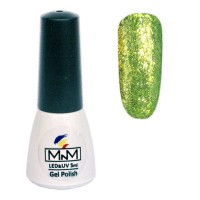 M-in-M Brilliant Polish No. 209 gel varnish (lime, glitter) 5 ml