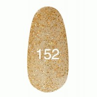 Gel-lacquer Kodi 8 ml № 152 (golden hologram flicker)