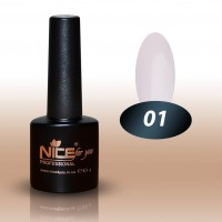 Gel-lacquer Nice For You №001 (white, enamel) 8.5 ml