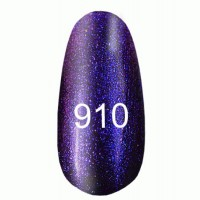 Gel-lacquer 8 ml «Space Lights» №910 (translucent with a blue tint)