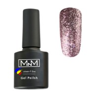 M-in-M Brilliant Polish No. 206 gel varnish (lilac, sparkles) 7.5 ml