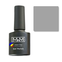 Гель-лак M-in-M Gel Polish №003 7.5 мл (сірий, емаль)