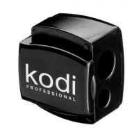 Pencil sharpener Kodi Professional (black glossy, with two blades)
