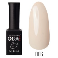 Gel-lacquer GGA Professional 10 ml №006 (Seashell, enamel)