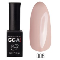 Gel-lacquer GGA Professional 10 ml №008 (Peach-orange, enamel)