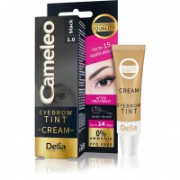 Cream color for eyebrows CAMELEO 1.0 (black) 15 ml