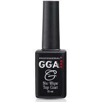 Топ без липкого слоя No-Wipe Top Coat GGA Professional, 15 мл