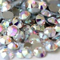 Rhinestones Brilliant Nails Crystal AB SS3 100 pcs