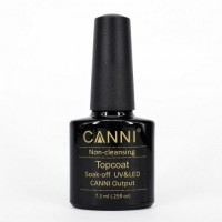 Finishing Coating Canni No Wipe Top Coat (without sticky coat) 7.5 ml