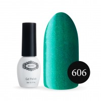Gel-lacquer KOTO Sand №606 5 ml (warm green, enamel)