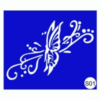 Stencils for the design of henna Kodi Professional S01