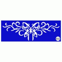 Stencils for the design of henna Kodi Professional S02